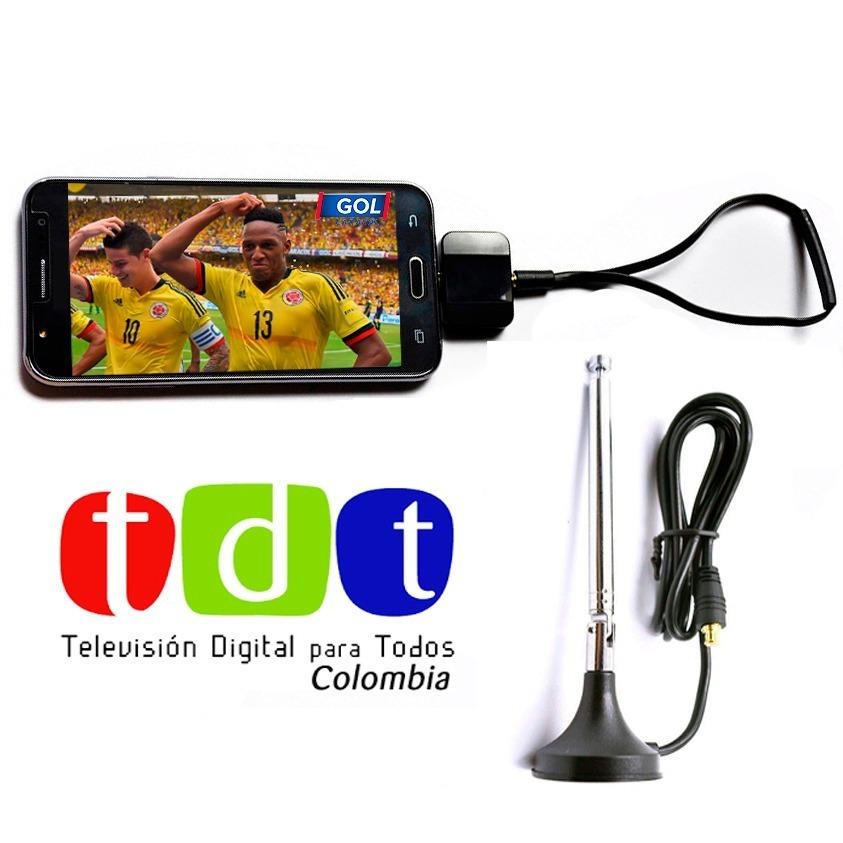 Receptor Tdt Pad Tv Digital Tdt Para Celular /tablet Android