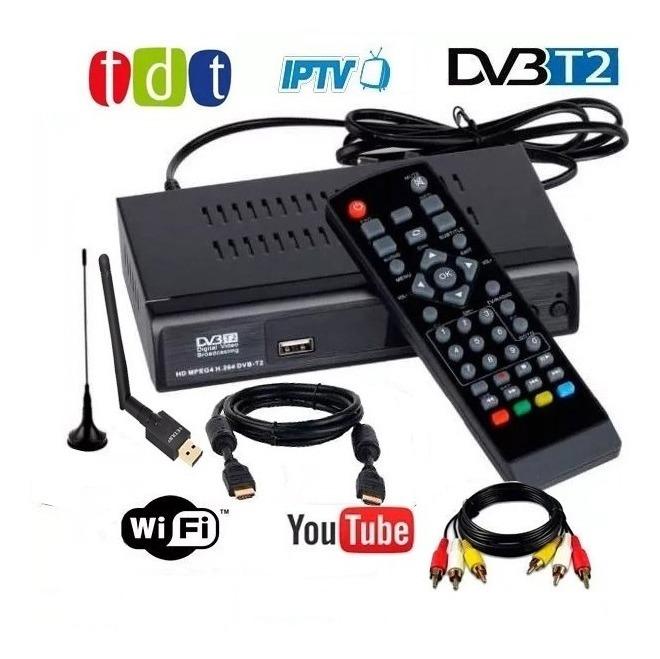 Decodificador Tdt Wi-fi Youtube