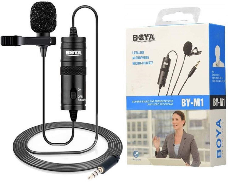Microfono De Solapa Lavalier  Boya By-m1 Para Cámaras Dslr Y Cel