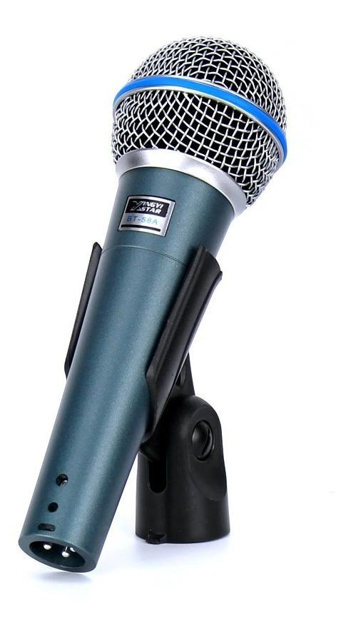 Microfono Alámbrico Shure Beta 58a Vos Karaoke Vocal Super