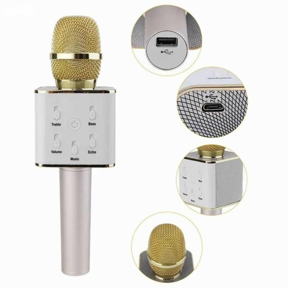 Micrófono Inalámbrico para Karaoke Q7