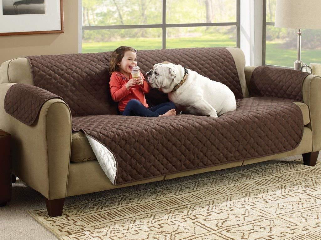 Forro Protector De Sofa Y Muebles Perros Y Mascotas 2 Puesto