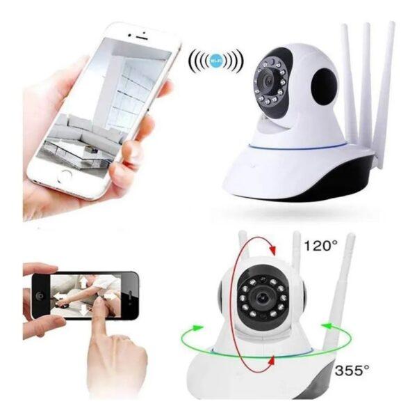 Camara De Seguridad 3 Antena Wifi - Yoosee