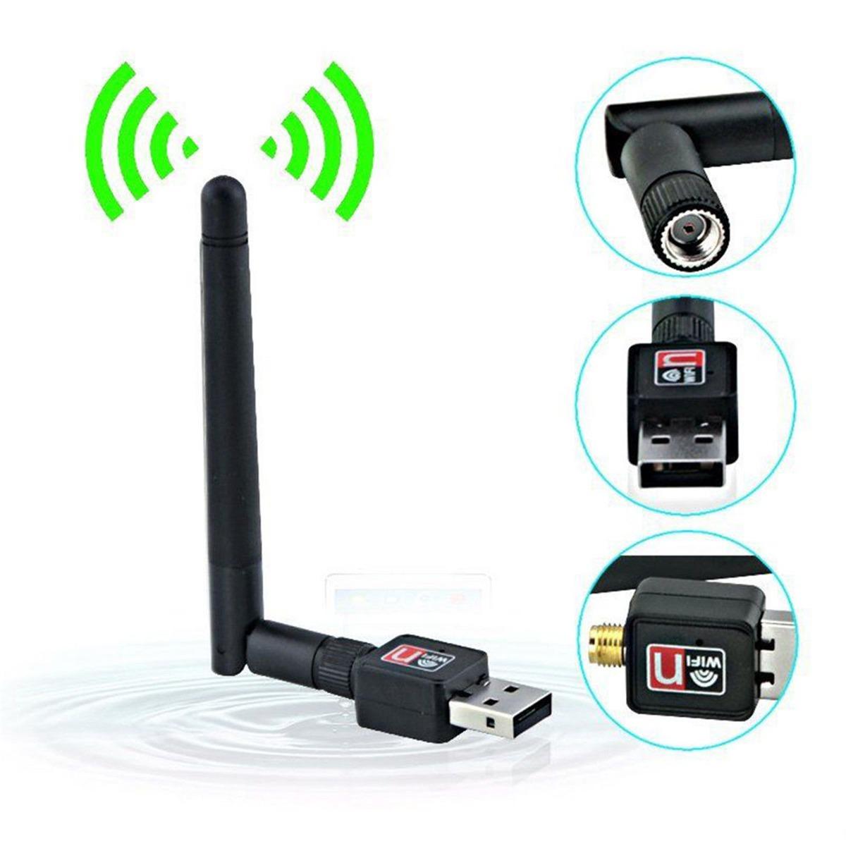 Adaptador Wifi Usb 900mbps Antena 802.iin 802-1 Wireless