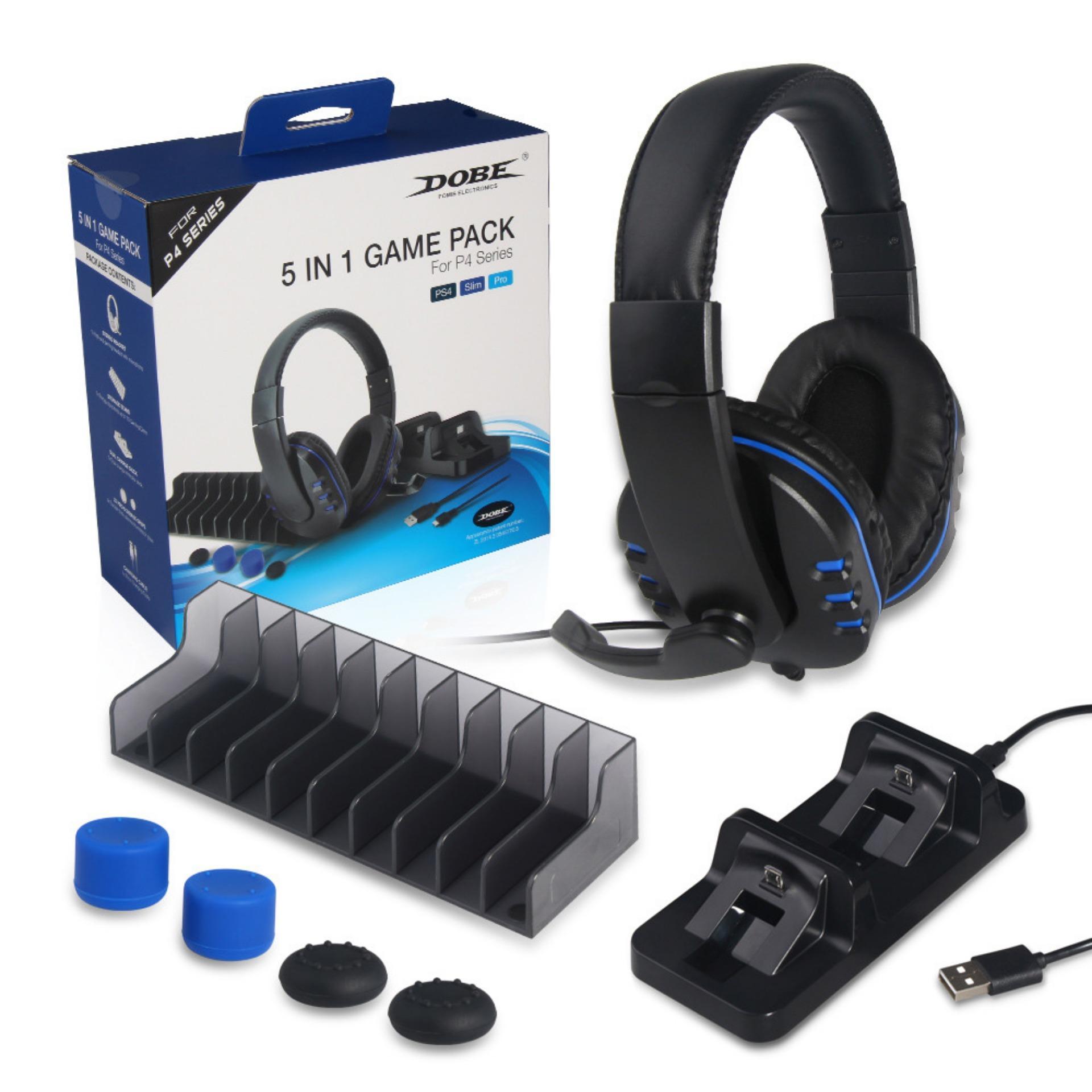 Combo Gamer Pack Dobe 5 En 1