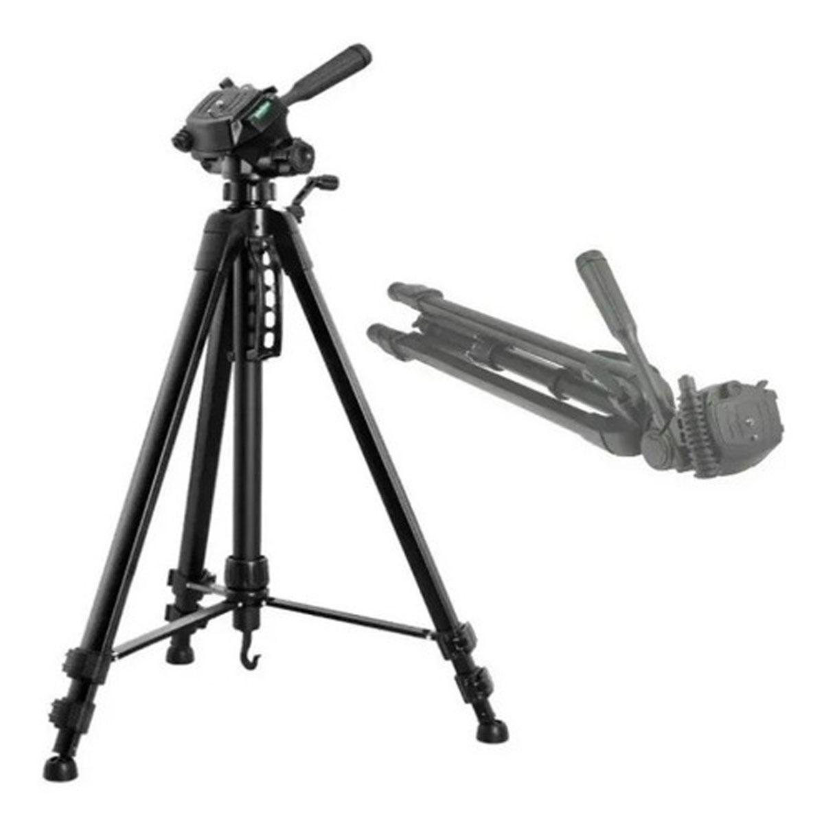 Tripode Profesional 170cm Manija +estuche Adaptador Celular